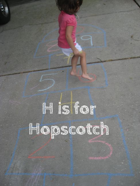 Letter H: Alphabet Activities for Kids H is for Hopscotch