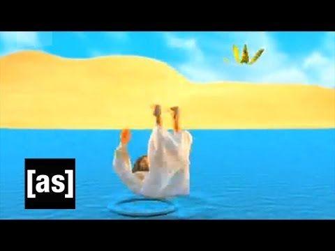 Falling on Water   Robot Chicken   Adult Swim