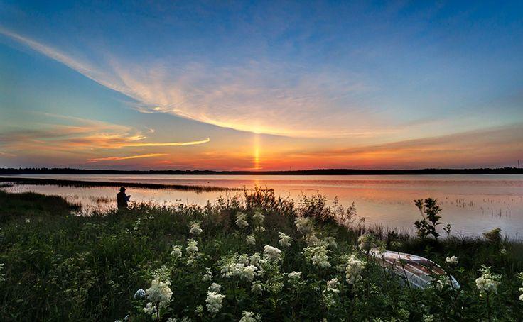 #sunset #pillar of the sun #scene by Leena Holmström