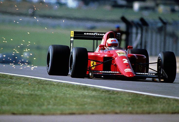 Nigel Mansell, Ferrari 641/2 - Ferrari Tipo 036 3.5 V12 (Great Britain 1990)