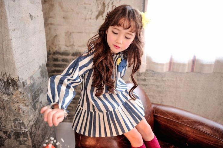 STRIPE DRESS #CandyRainbow #kidsboutique #childrenclothing #dresses