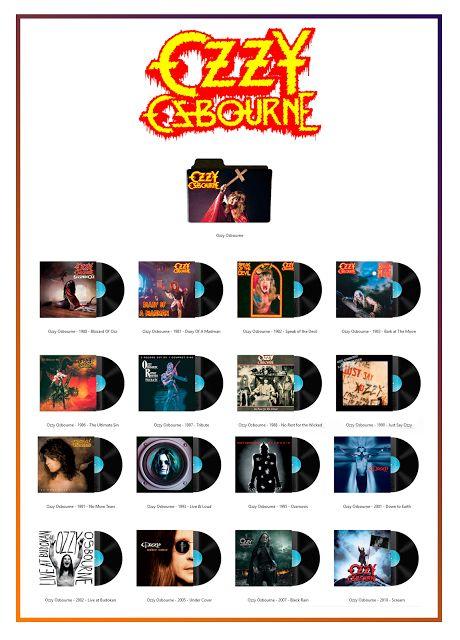 Album Art Icons: Ozzy Osbourne..........