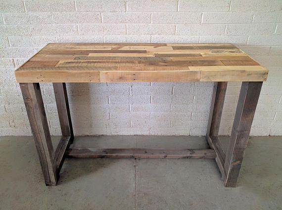 Reclaimed Wood Bar Table Restaurant Counter Community Communal Etsy Reclaimed Wood Bars Wood Bar Table Wood Bars