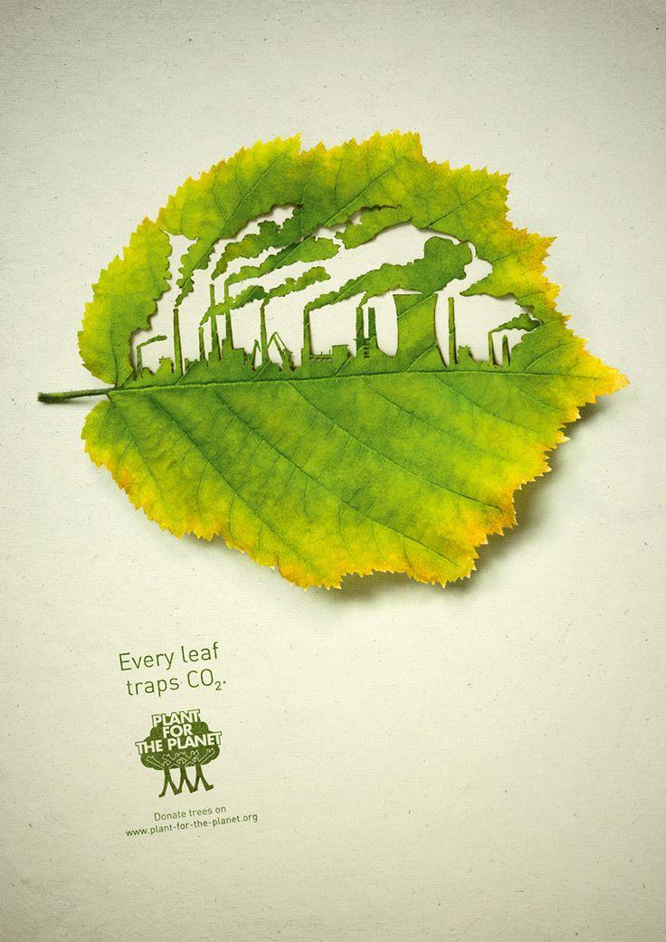"""Cette campagne publicitaire pour """"Plant for the Planet"""" est une création de l'agence allemande Legas Delaney."""