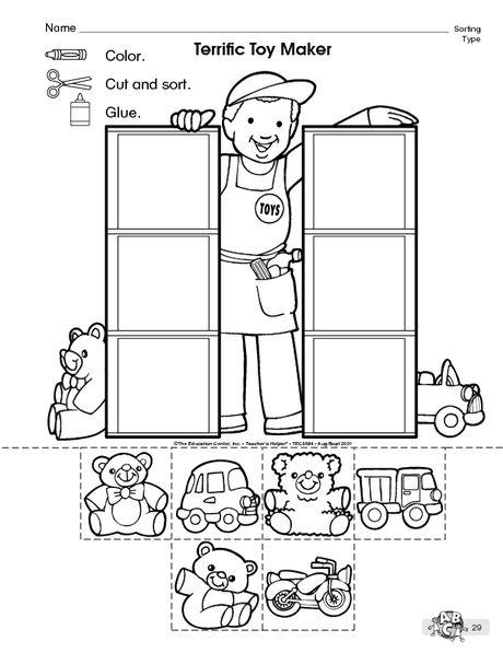 sorting logika preschool worksheets preschool math math worksheets. Black Bedroom Furniture Sets. Home Design Ideas