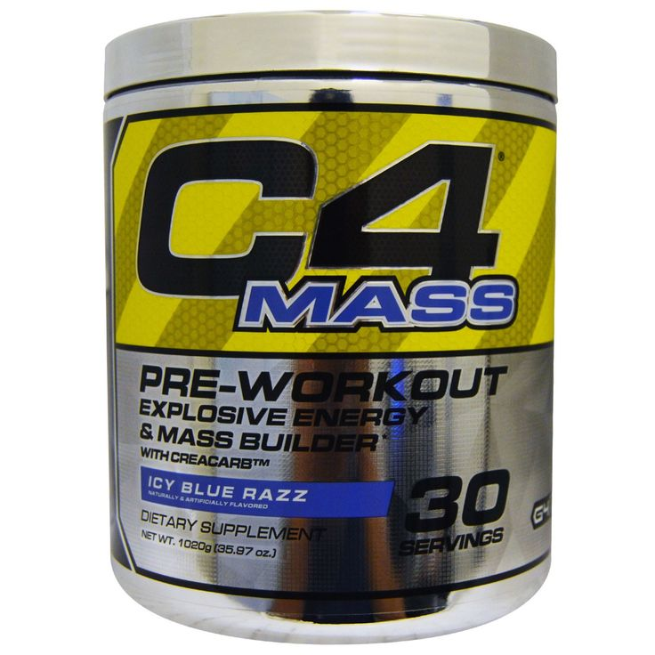 Cellucor, C4 Mass, PreWorkout Explosive Energy & Mass