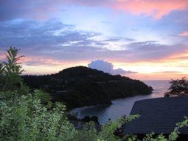 Sunset from Villas in 4 Seasons Hotel-Papagayo Gulf, Guanacaste