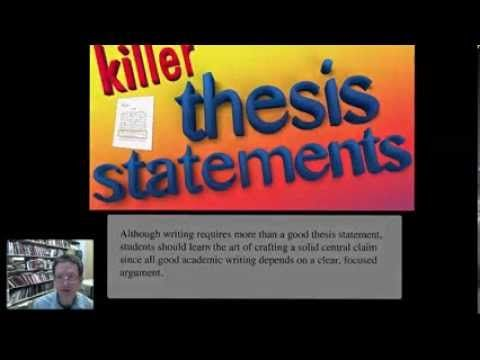 Youtube thesis statement