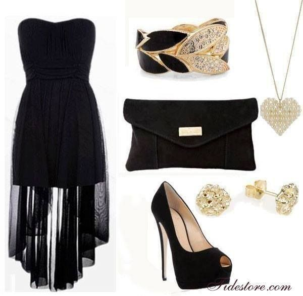 Beautiful High Low Dress Outfit Contemporary - Mikejaninesmith.us ...