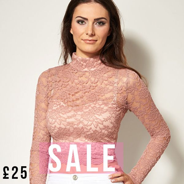 SALE Our Perrie Pink lace crop top is now just £25! Get yours for this summer now! https://www.havetolove.com/collections/sale/products/perrie-pink-lace-crop-top #sale #summer #NEfollowers