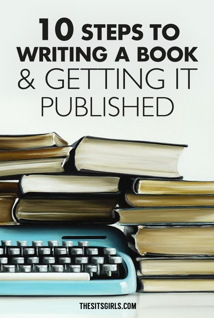 10 Steps To Writing A Book & Getting It Published | Do you dream of becoming a published author, but don't know where to start? Click through for 10 steps to writing a book and getting it published. Includes resources for writing a great query letter.