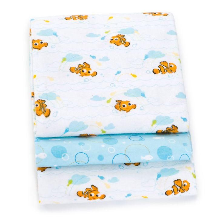 Finding Nemo Receiving Blankets 4 Pack Disney Baby