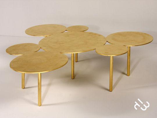 coffee table by POUENAT FERRONNIER