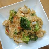Ortensia Blu — Recipe for Chicken with Orzo, Broccoli and Tomatoes from Ortensia Blu