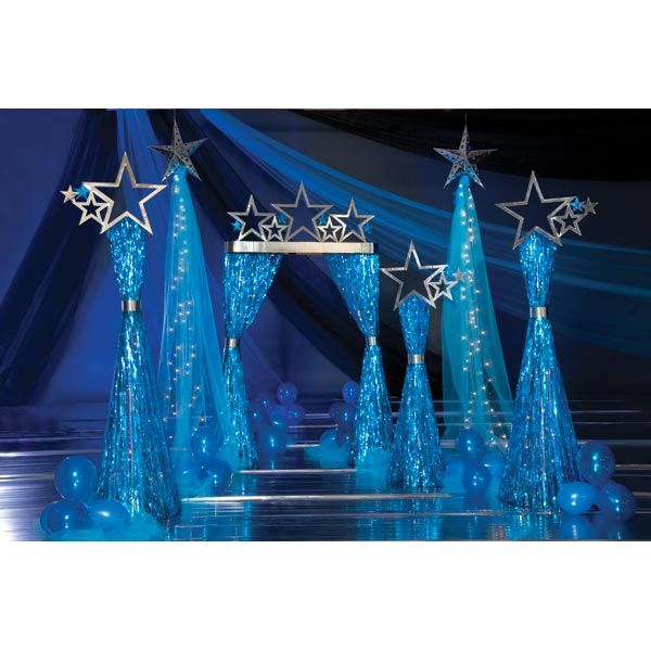Starlight Star Bright Theme, prom themes, prom decorations, cheap prom, cheap…