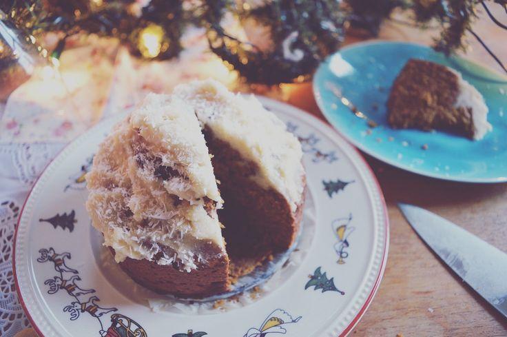 Glutenvrije worteltaart met vegan cashewtopping www.eatpurelove.nl