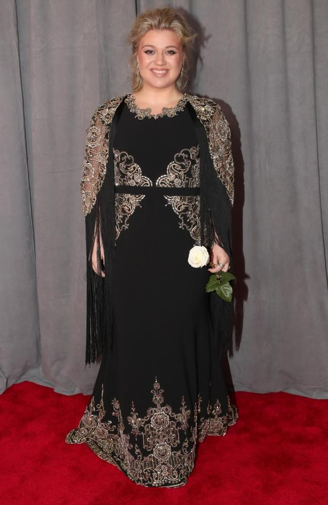 Recording artist Kelly Clarkson attends the 60th Annual GRAMMY Awards at Madison Square Garden on January 28, 2018 in New York City. Picture: Christopher Polk/Getty Images for NARAS