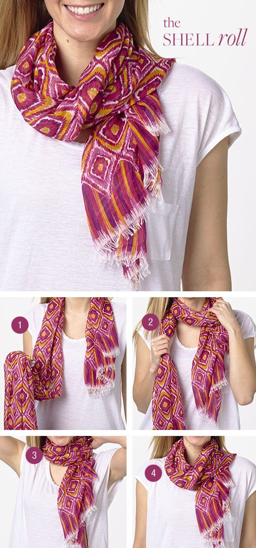 17 best images about ways to wear a scarf on