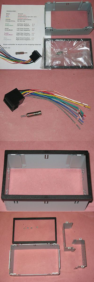 Dashboard Installation Kits: Mercedes Ml-320, Ml320 98-02 Double Din Radio Kit, Cd Dvd Navigation 2 Din Kit -> BUY IT NOW ONLY: $65 on eBay!