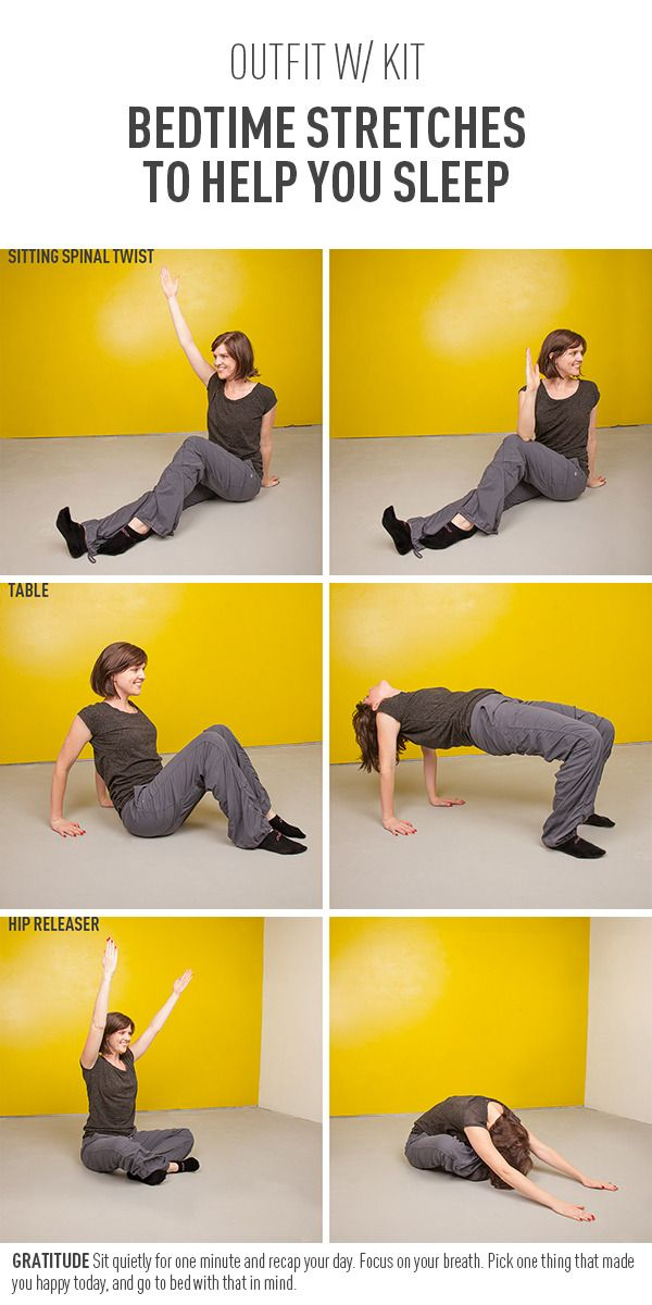 Bedtime Stretches To Help You Sleep