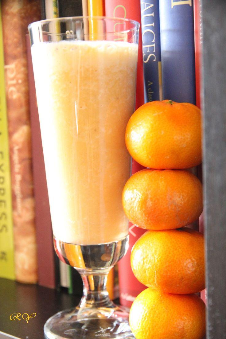 mandalina-ve-muzlu-smoothie