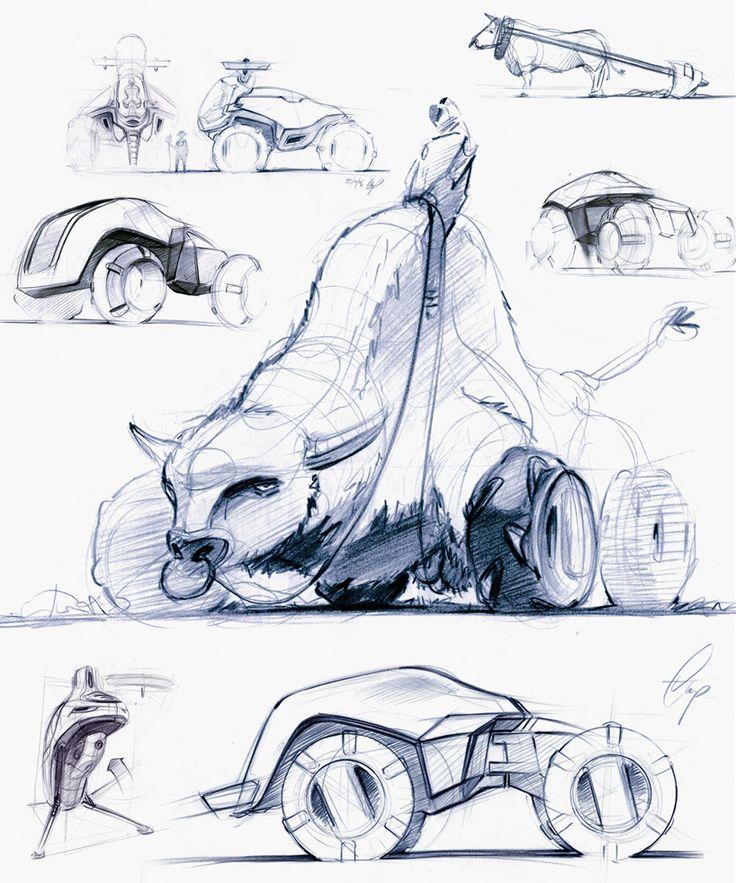 bolid concept - Christoph Proessler