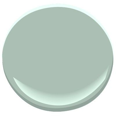 Benjamin Moore Wythe Blue. 2012 chosen color of the year. Beautiful calming hue. 92.8 match to Sherwin Williams Quietude