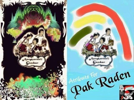 Comic Book ATRIBUTE FOR PAK RADEN