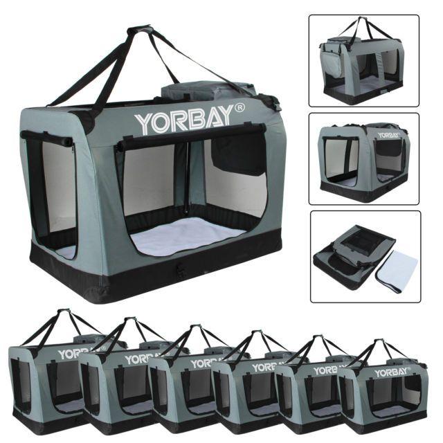 Faltbare Transportbox Hundebox Hundetransportbox Reisebox S - XXXL Hunde Katzen