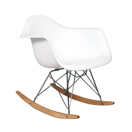 17 best images about rocking chairs on pinterest growing - Modern white rocking chair ...