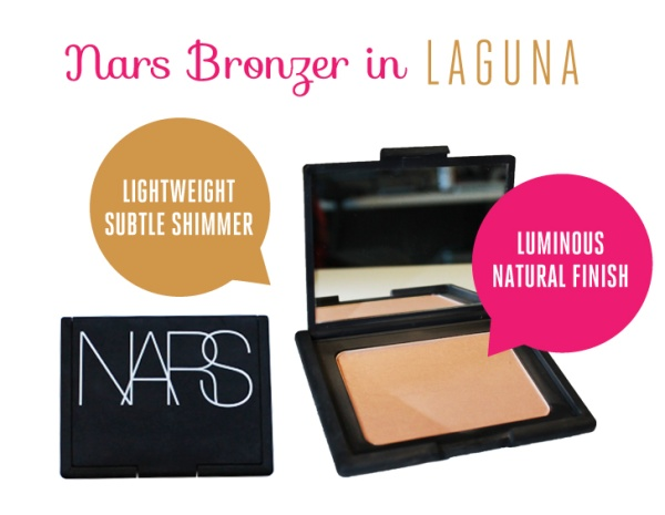 NARS bronzer in Laguna #beautyreview {my favorite}: Laguna Y, Laguna Mi Favorite, Laguna Beautyreview, Nars Bronzer, Laguna 3, Favorite Bronzer, Natural Bronzer, Beautyreview Mi, Favorite Lov