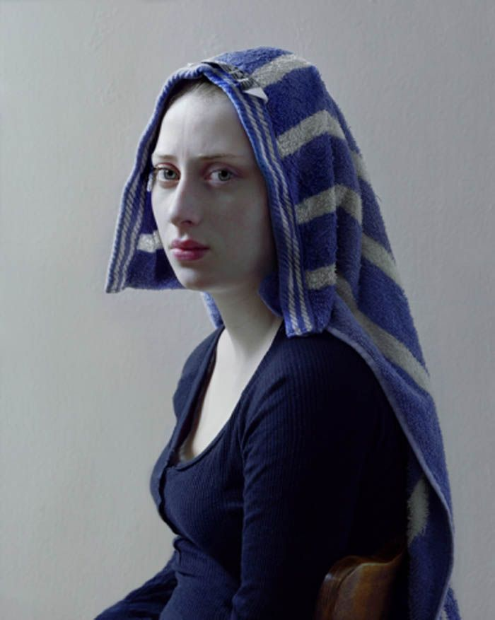 We have this towel. {Nouveau Baroque: Hendrik Kerstens | Neon Mamacita}