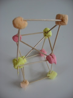 Toothpicks in the play dough