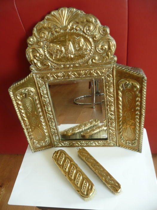 17 beste idee n over hal spiegel op pinterest ingangs plank ronde spiegels en hal versieren - Donkere gang decoratie ...