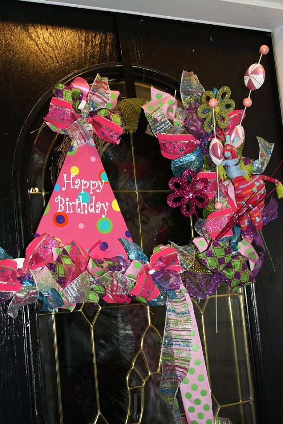 Bitrthday wreath for our brithday months