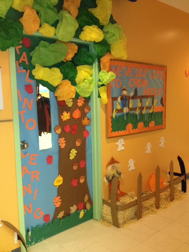 Classroom Decoration Autumn ~ Best ideas about fall classroom door on pinterest