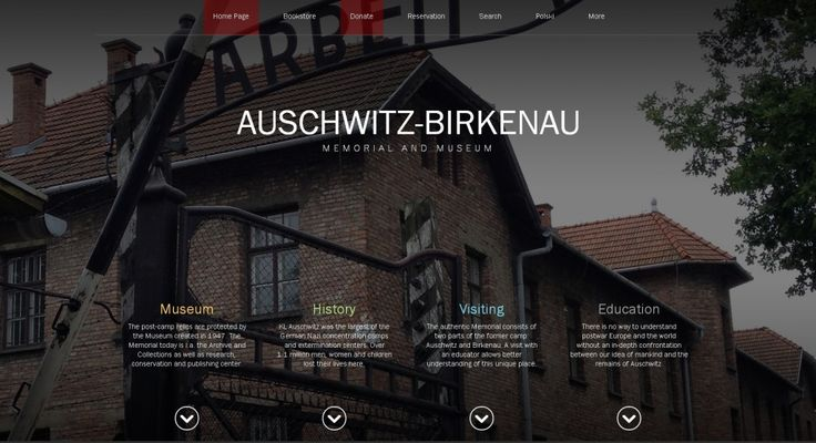 In connection with the 70th anniversary of the Nazi German Auschwitz concentration and extermination camp, a completely renewed version of the website of the Memorial Site and Museum is available at www.auschwitz.org. Work on the new version of the website was possible thanks to the support of the companies, Drive Creative Group from Canada and Ideo from Rzeszów, Poland.  More: http://auschwitz.org/en/museum/news/new-www-auschwitz-org,1129.html