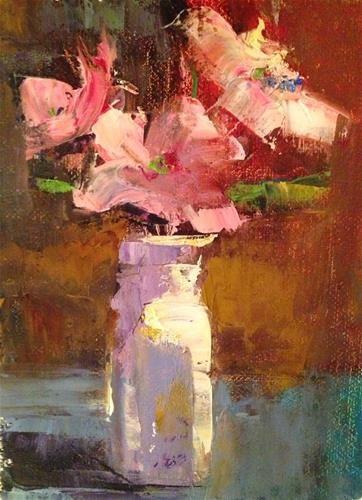 "Daily Paintworks - ""Tuesday Morning, 5x7"" - Original Fine Art for Sale - © Ann Feldman"