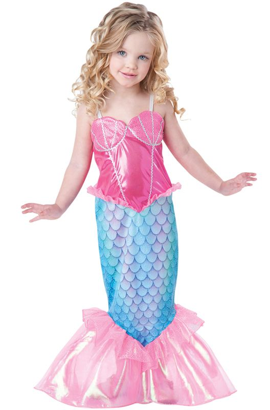 mermaid toddler costume - Mystical Halloween Costumes