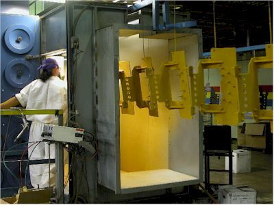 Powder coating protects the roughest, toughest machinery as well as the household items you depend on daily...  http://www.dutchtechgroup.com