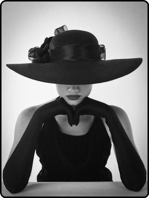hats and opera gloves� so elegant� black magic pinterest
