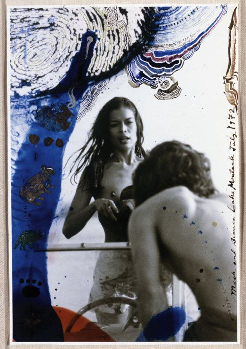 Bianca and Mick jagger photographed by Peter Beard