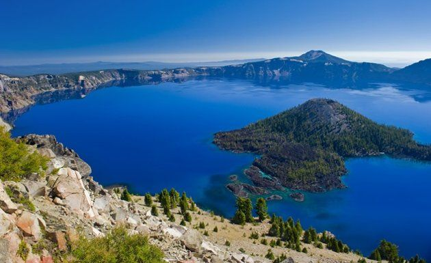 Crater Lake, Oregon - The last time I went it had 6ft of snow... in June
