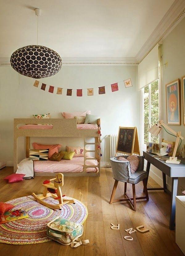 Ser eco-friendly es una actitud. Por eso nos gusta esta habitación :) #kids #decoracion
