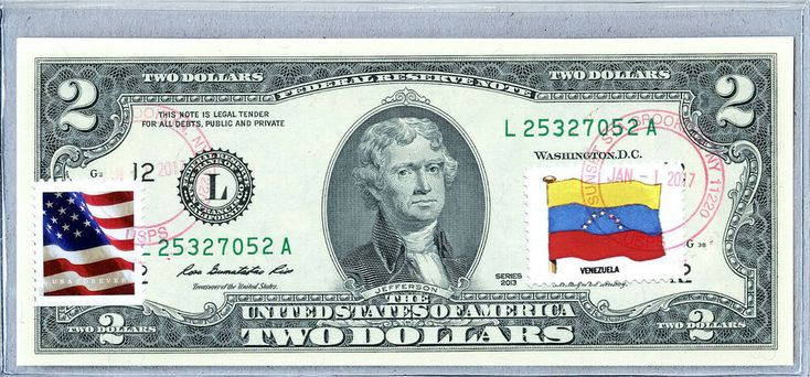 National Currency Note US Dollar Bills $2 2013 Unc…