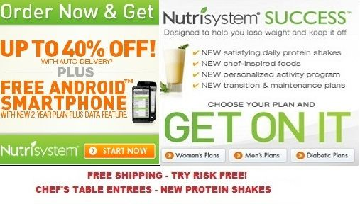 The New Nutrisystem Success Weight Loss Plan with Janet Jackson! The diet lets you choose the plan that is right for you. Just pick your 28 day food supply and have the food delivered right to your door.