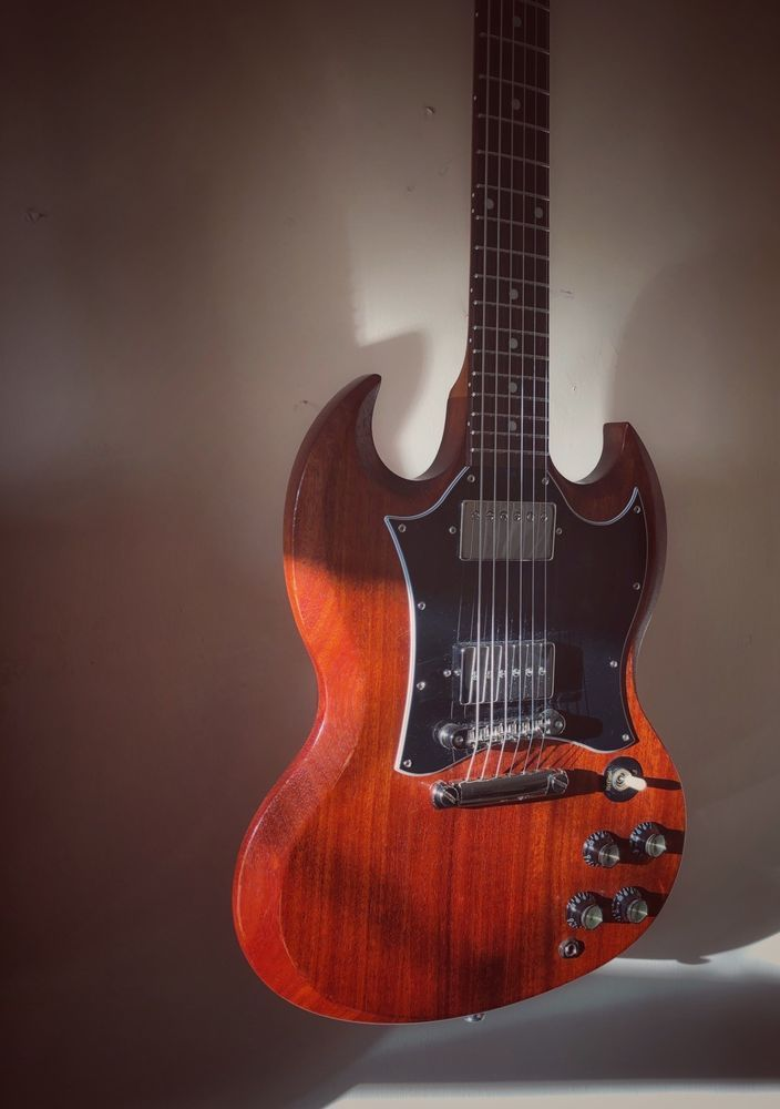 GIBSON SG Faded USA 2018 Worn Bourbon With Papers | geeitahs