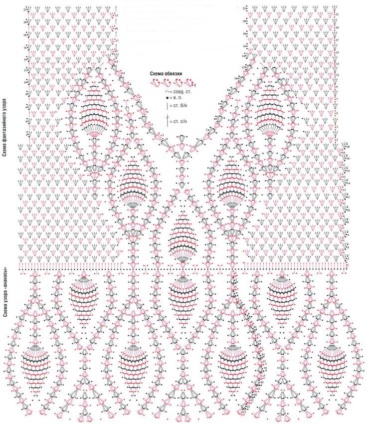 crochelinhasagulhas: Blusa branca com abacaxis