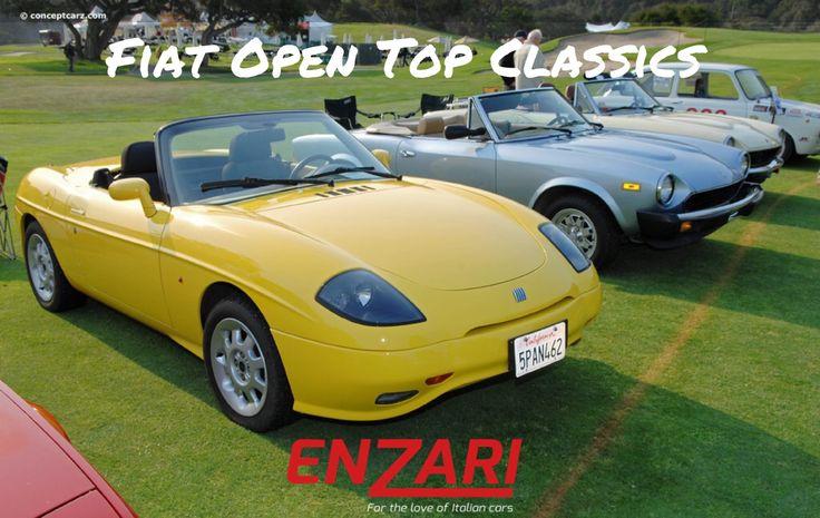 Fiat open top classics #autoitaliane #enzari #cars #classiccarclub #fiat124spider #supercars #alfaromeo #fiatbarchetta #autoitaliane