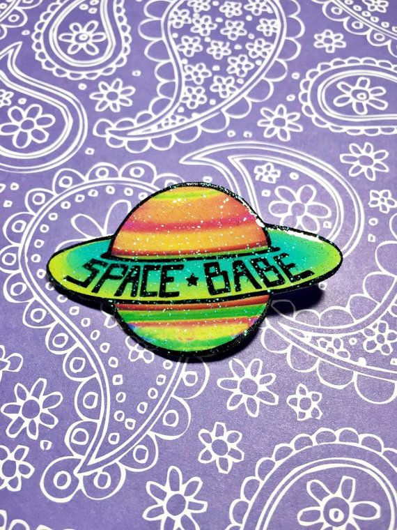 The premier design of the SPACE BABES Collection! Let the Earthlings know where youre -truly- from when you wear this piece. --  **ABOUT THE SPACE